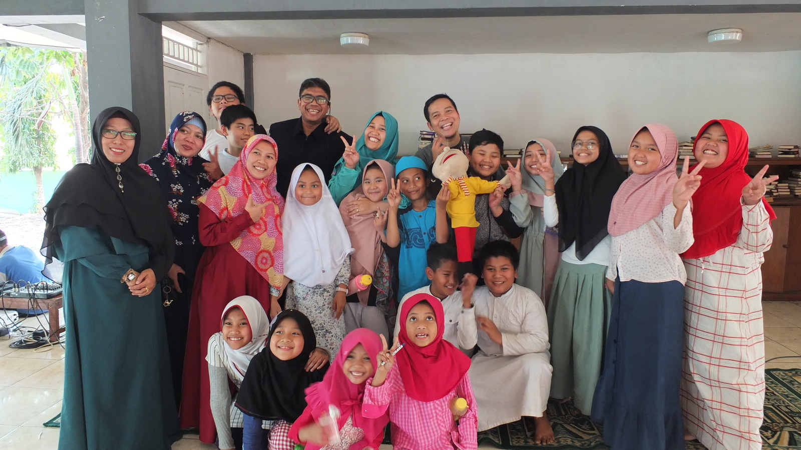 SD Al Muslim Mendongeng Bersama Komunitas Sahabat Odi