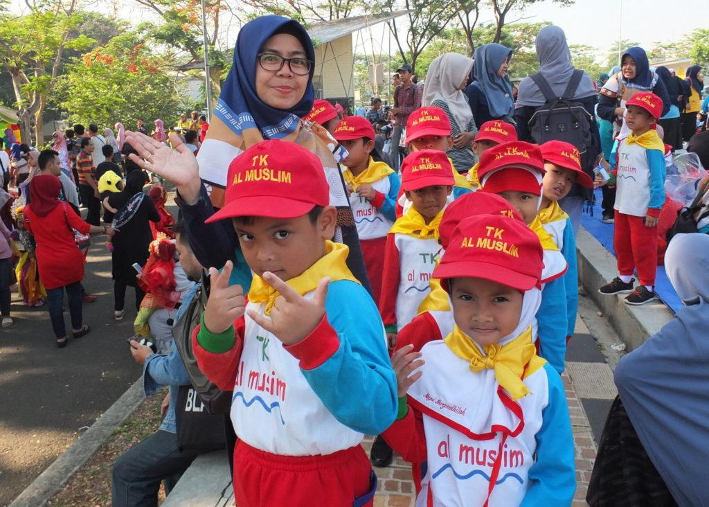 PG-TK Al Muslim Mengikuti Kegiatan PORSENI 2019