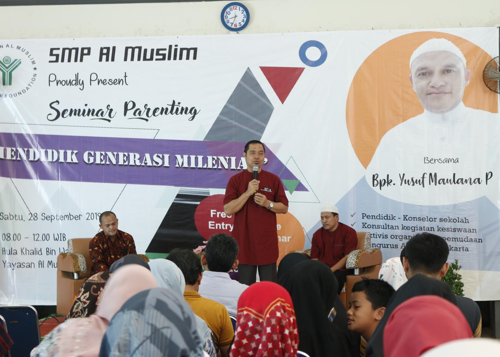 Kepala Sekolah SMP Al Muslim
