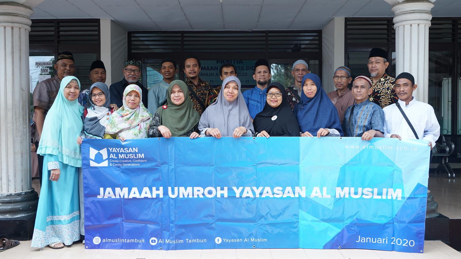 Reward Umrah untuk Guru dan Karyawan Al Muslim