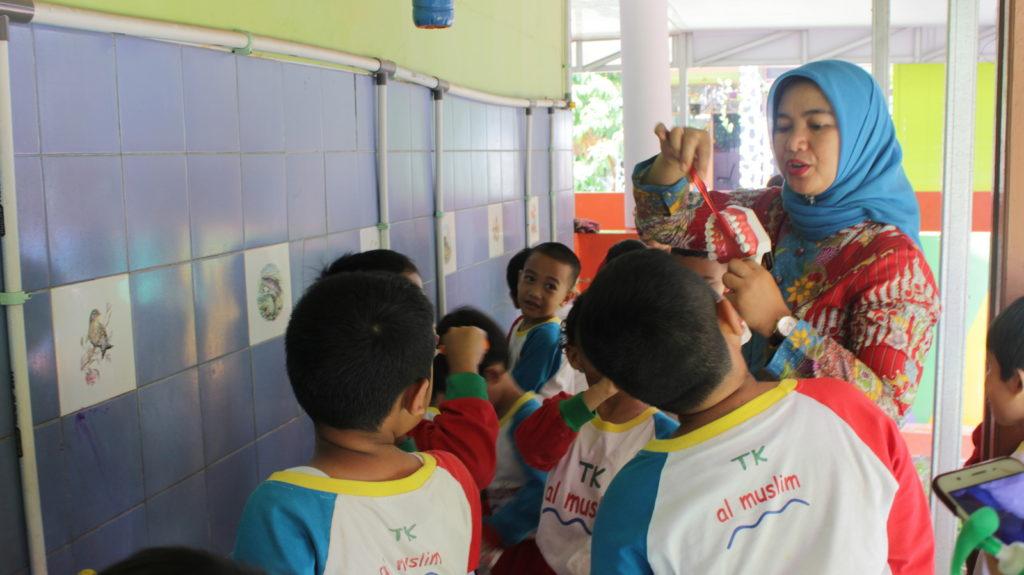 Usaha Kegiatan Gigi Sekolah