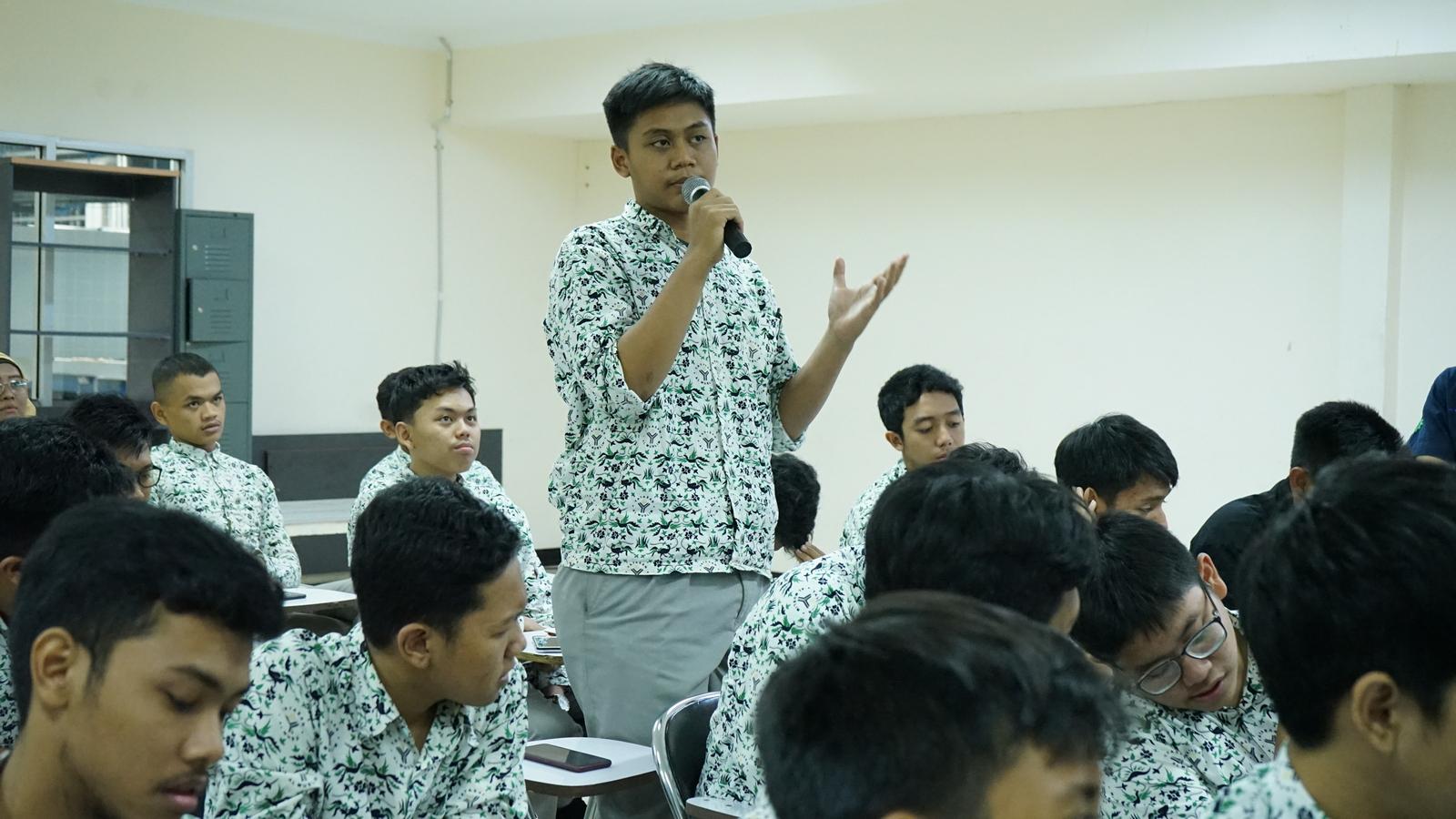 Kunjungan Industri SMA Al Muslim 9