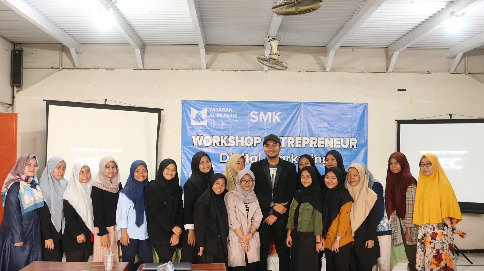 Workshop Entrepreneurship SMK Al Muslim 12