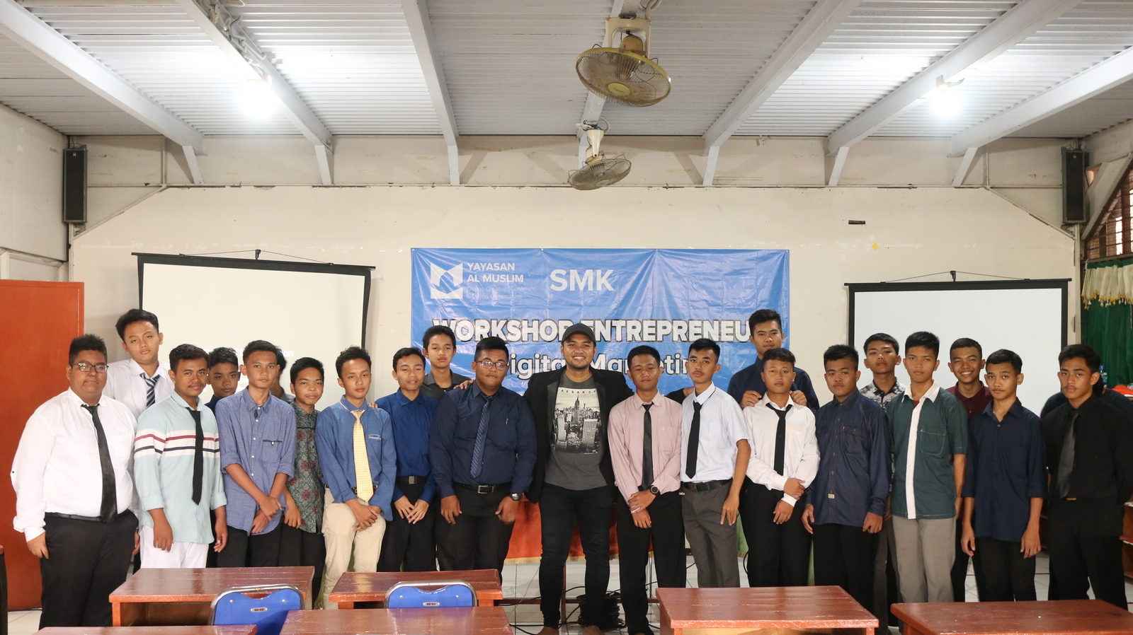 Workshop Entrepreneurship SMK Al Muslim 13