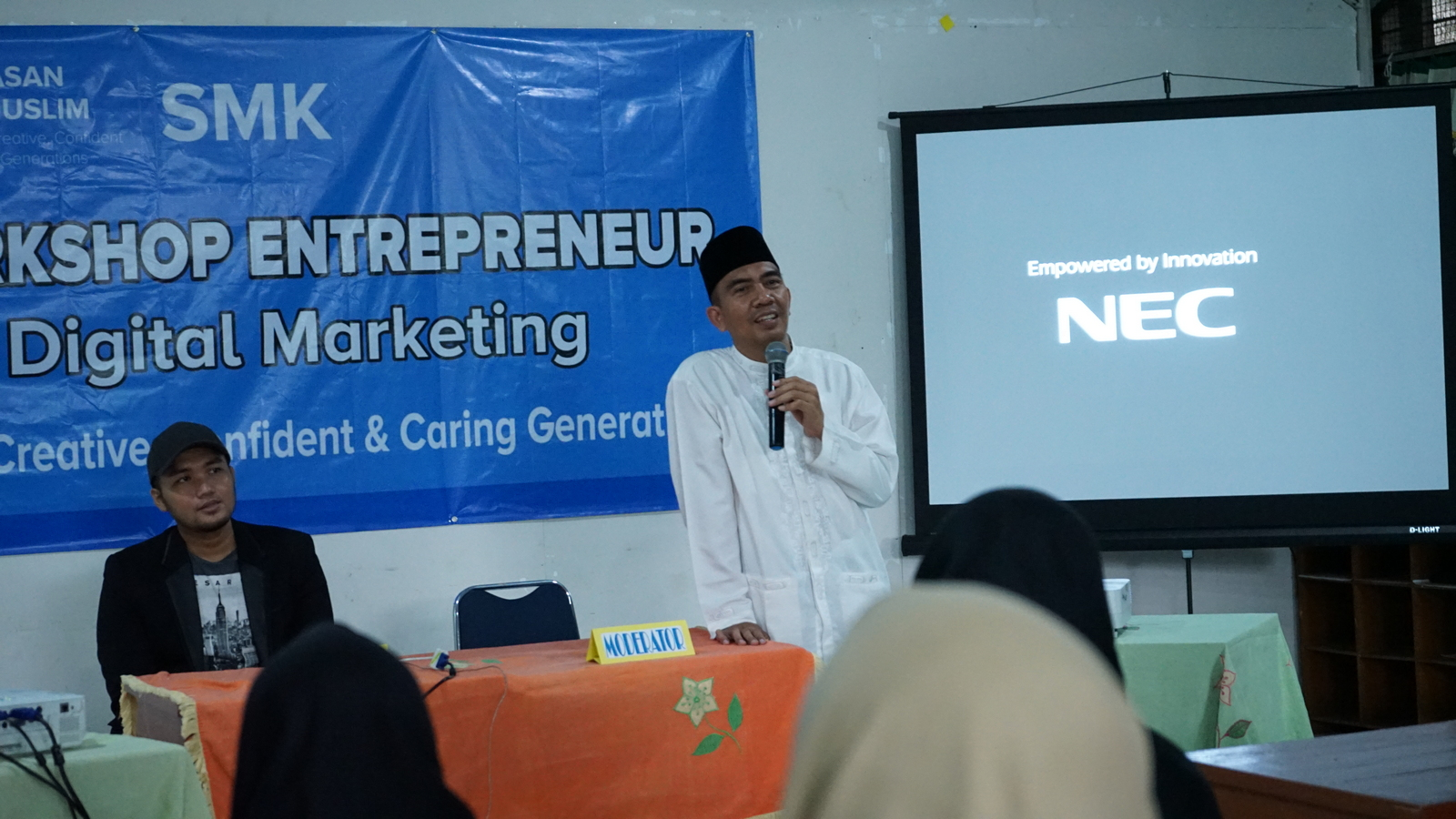 Workshop Entrepreneurship SMK Al Muslim 4