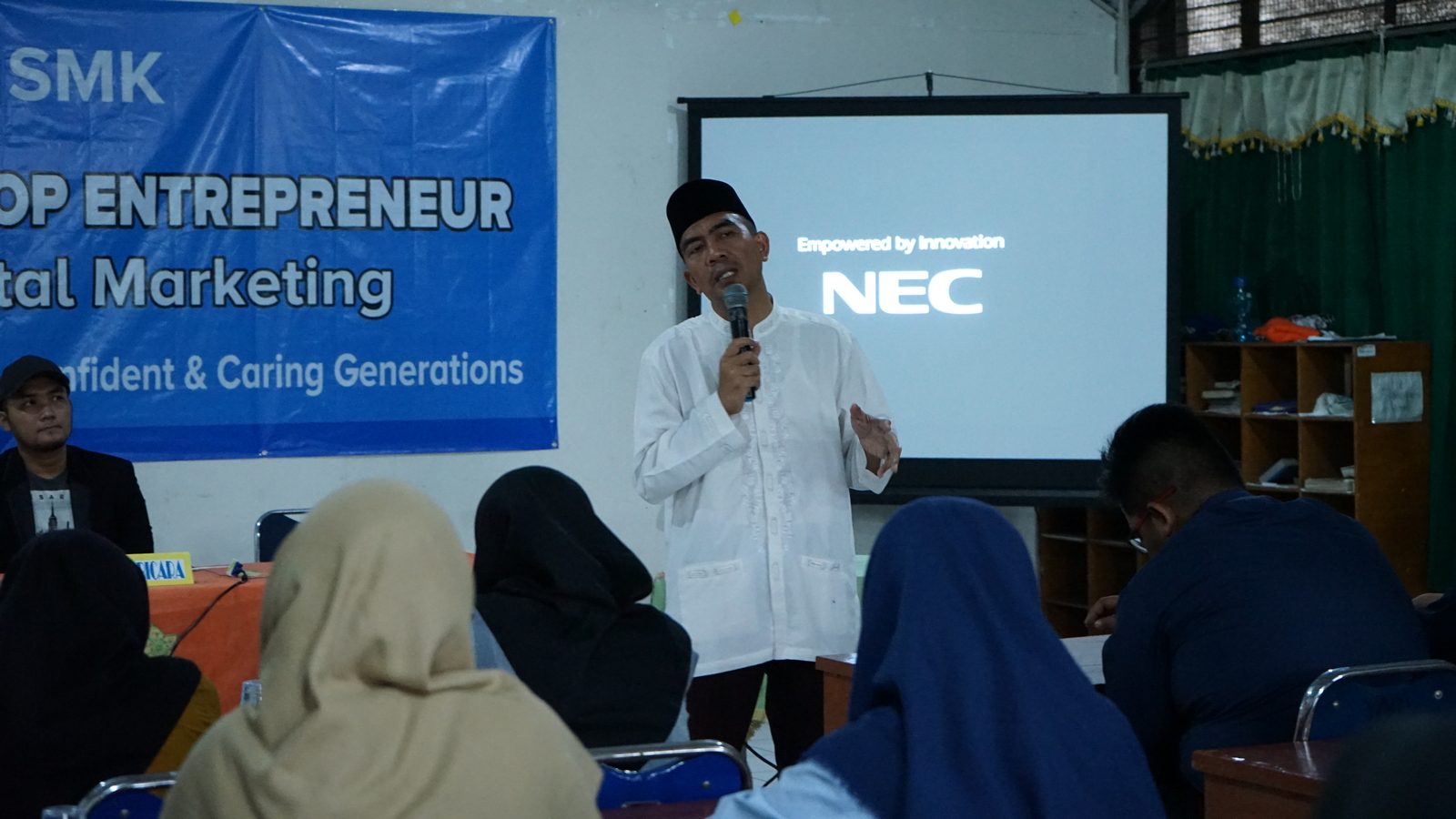 Workshop Entrepreneurship SMK Al Muslim 5