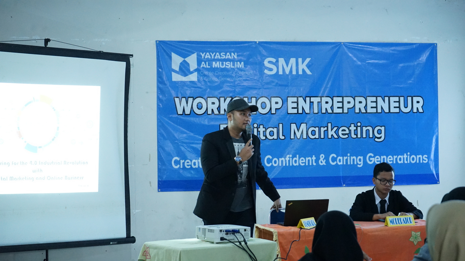 Workshop Entrepreneurship SMK Al Muslim 6