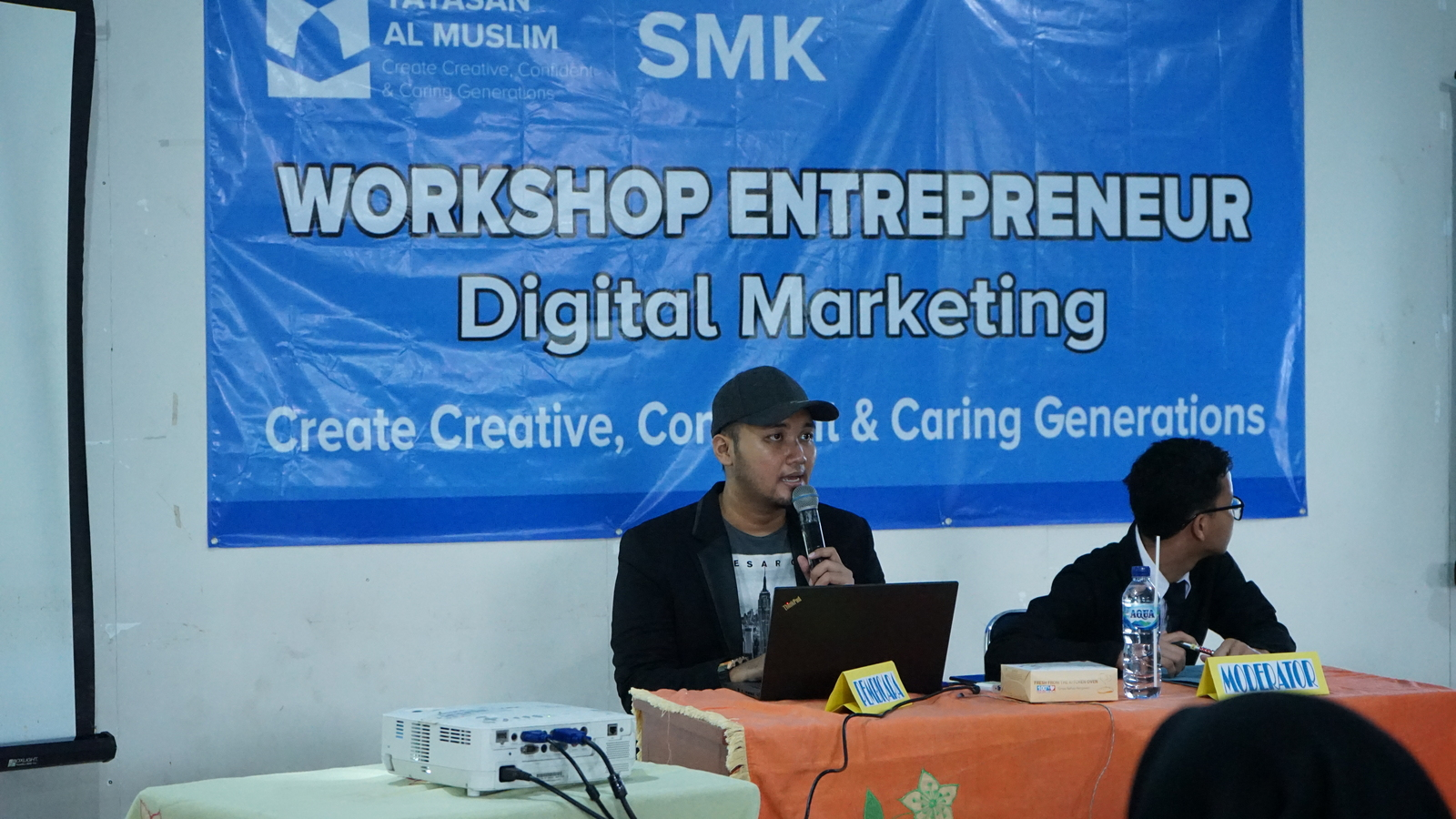 Workshop Entrepreneurship SMK Al Muslim 8