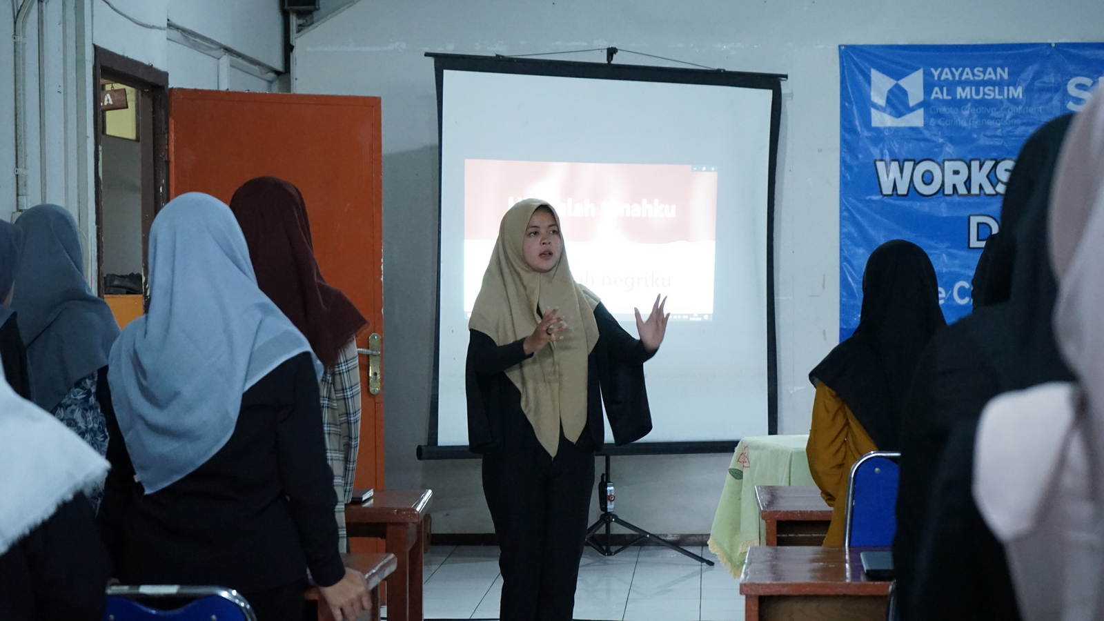 Workshop Entrepreneurship SMK Al Muslim