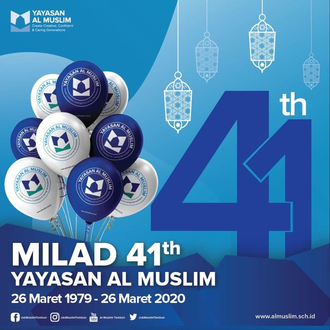 Milad ke-41 Yayasan Al Muslim