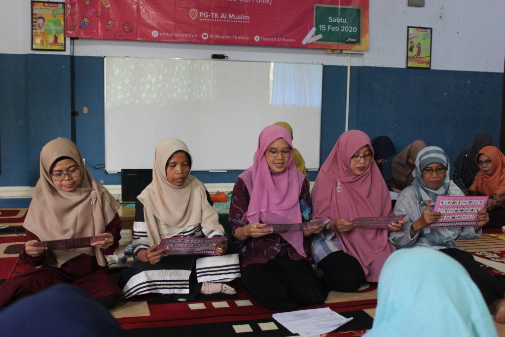 Pelatihan CBI Fonik Bersama Ibu Sumarti M. Thahir
